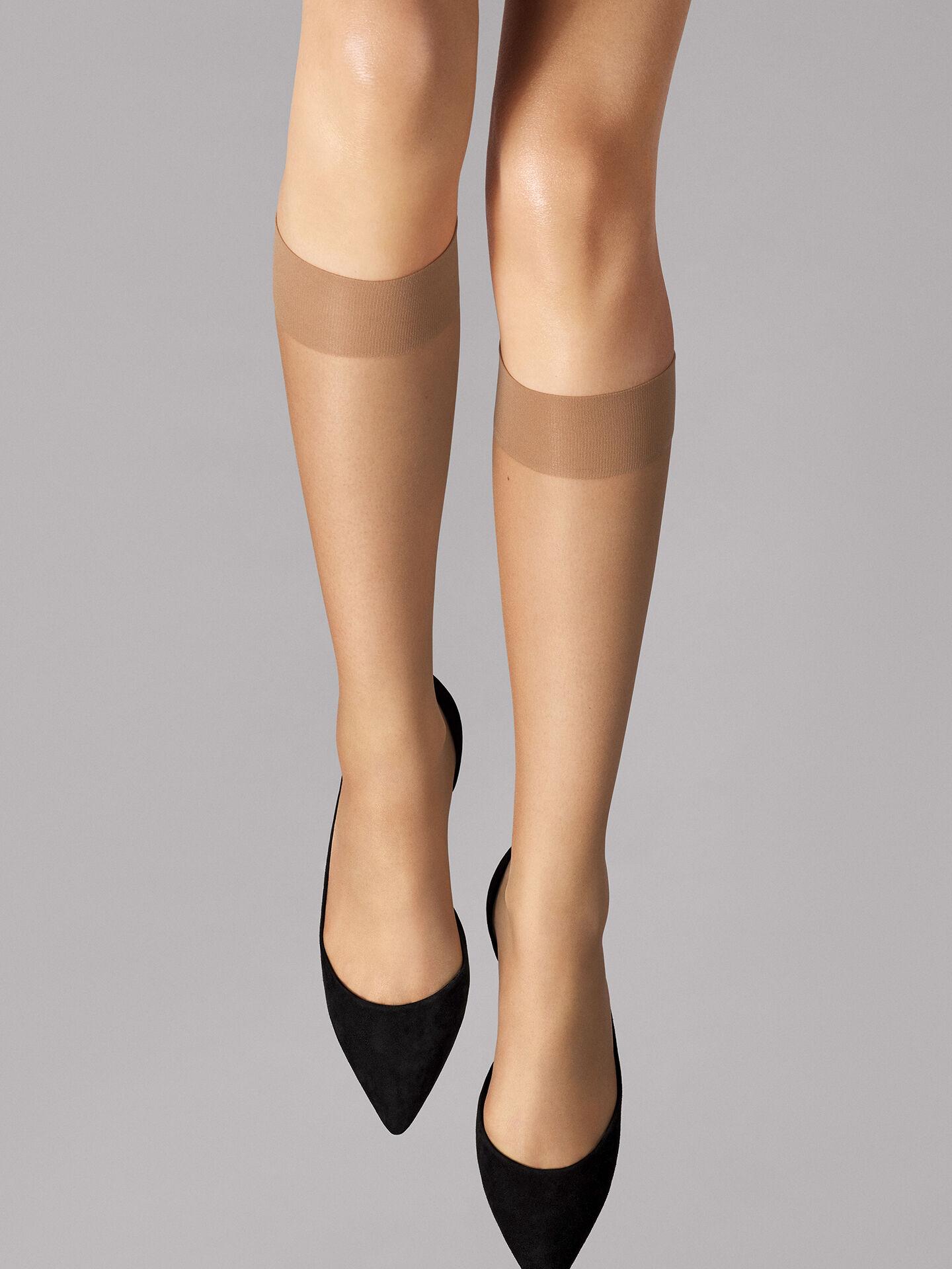 Wolford Sheer 15 knee-highs 15 i calzettoni trasparenti